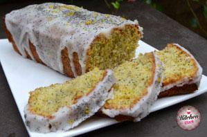 Cake au citron et graines de pavot KK