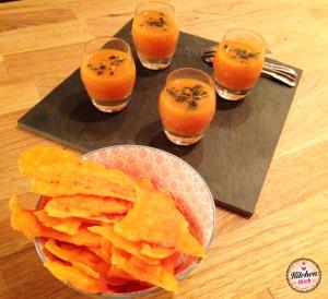 Chips mimolette carotte - soupe KK