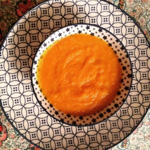 Crème de potiron asiatique